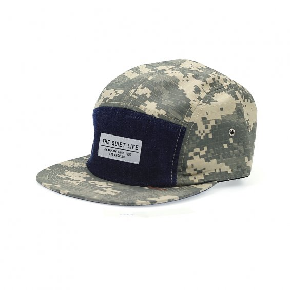 The Quiet Life Command 5-Panel, Green Camo