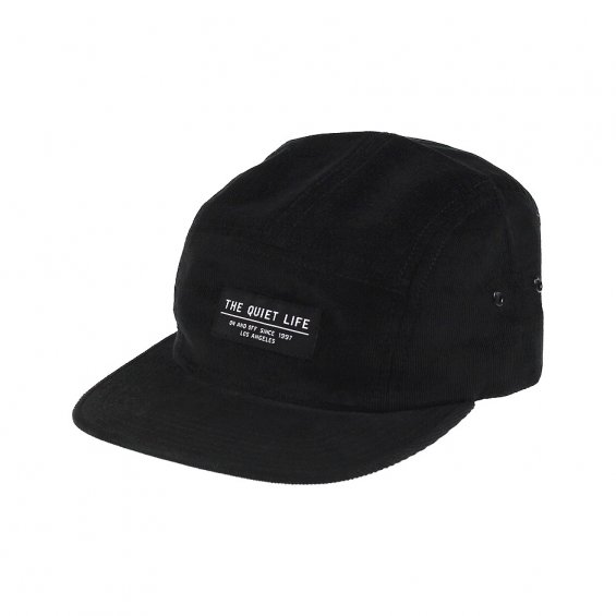 The Quiet Life Cord 5-panel, Black