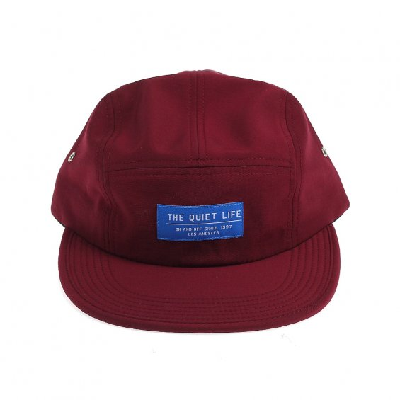 The Quiet Life Crush 5-Panel, Burgundy