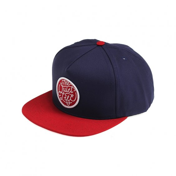 The Quiet Life Day Logo Snapback, Blue Red