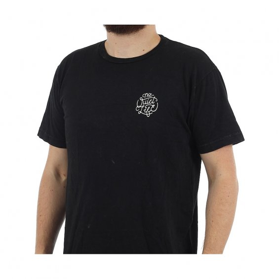 The Quiet Life Day Logo Tee, Mineral Black