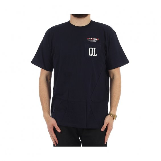 The Quiet Life Flagship Premium Pocket Tee, Navy