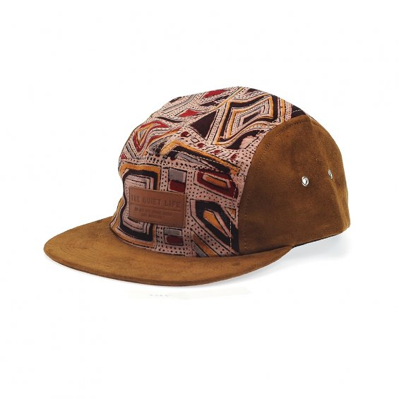 The Quiet Life Geo 5-Panel, Suede Tan