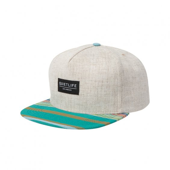 The Quiet Life Linen Snap Back