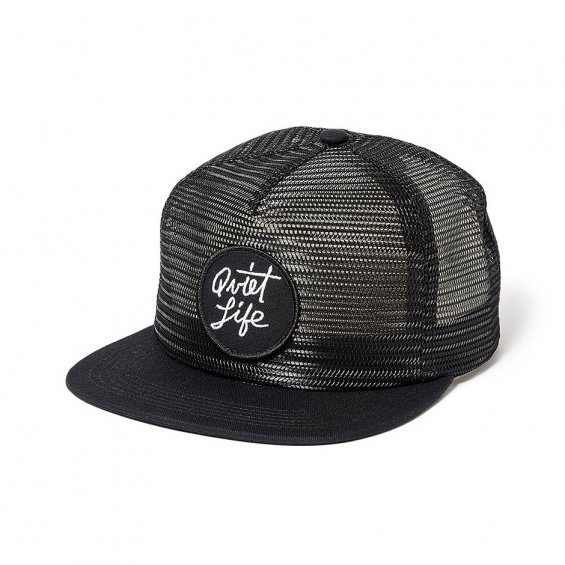 The Quiet Life Mesh Trucker, Black