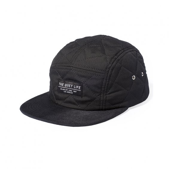 The Quiet Life Quilted 5-Panel, Black