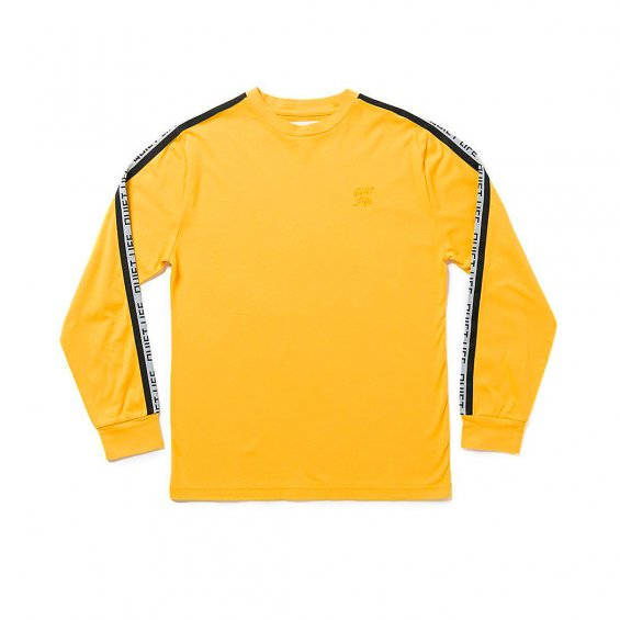 The Quiet Life Racing Stripe LS Tee, Gold
