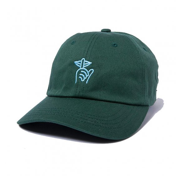 The Quiet Life Shhh Dad Hat, Forrest Green