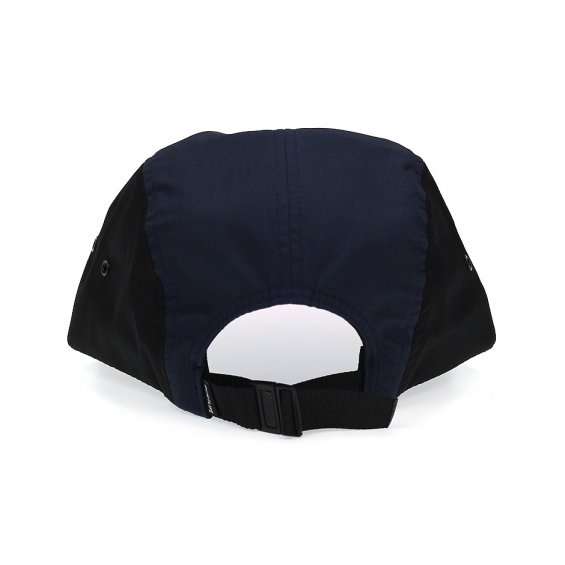 The Quiet Life Whisper 5-Panel, Maroon Navy Black