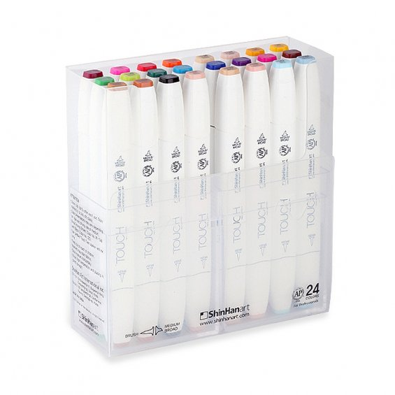 TOUCH Twin Marker Brush Set 24