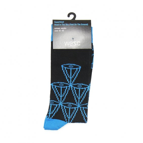 WeSC x Superblast Head In T Socks