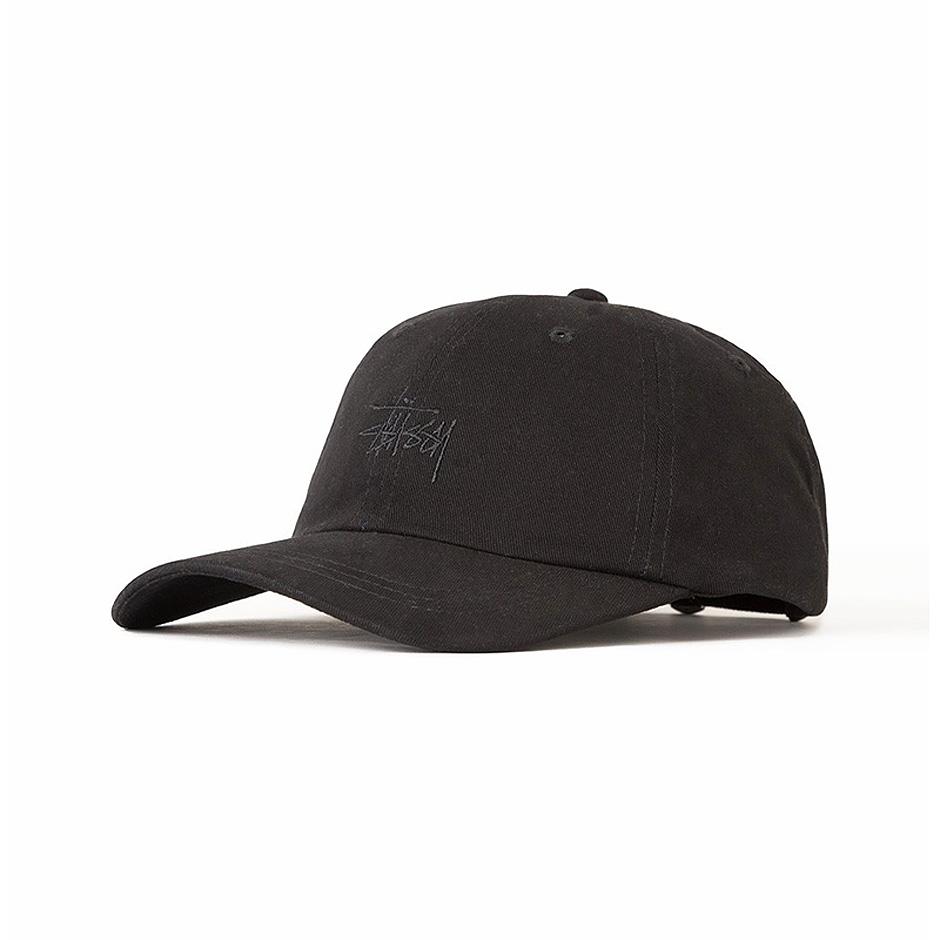 74d3d5e7 Stussy Basic Logo Low Pro Cap, Black - Hlstore.com | Highlights