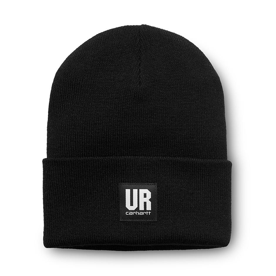 Carhartt WIP x UR Acrylic Watch Hat, Black
