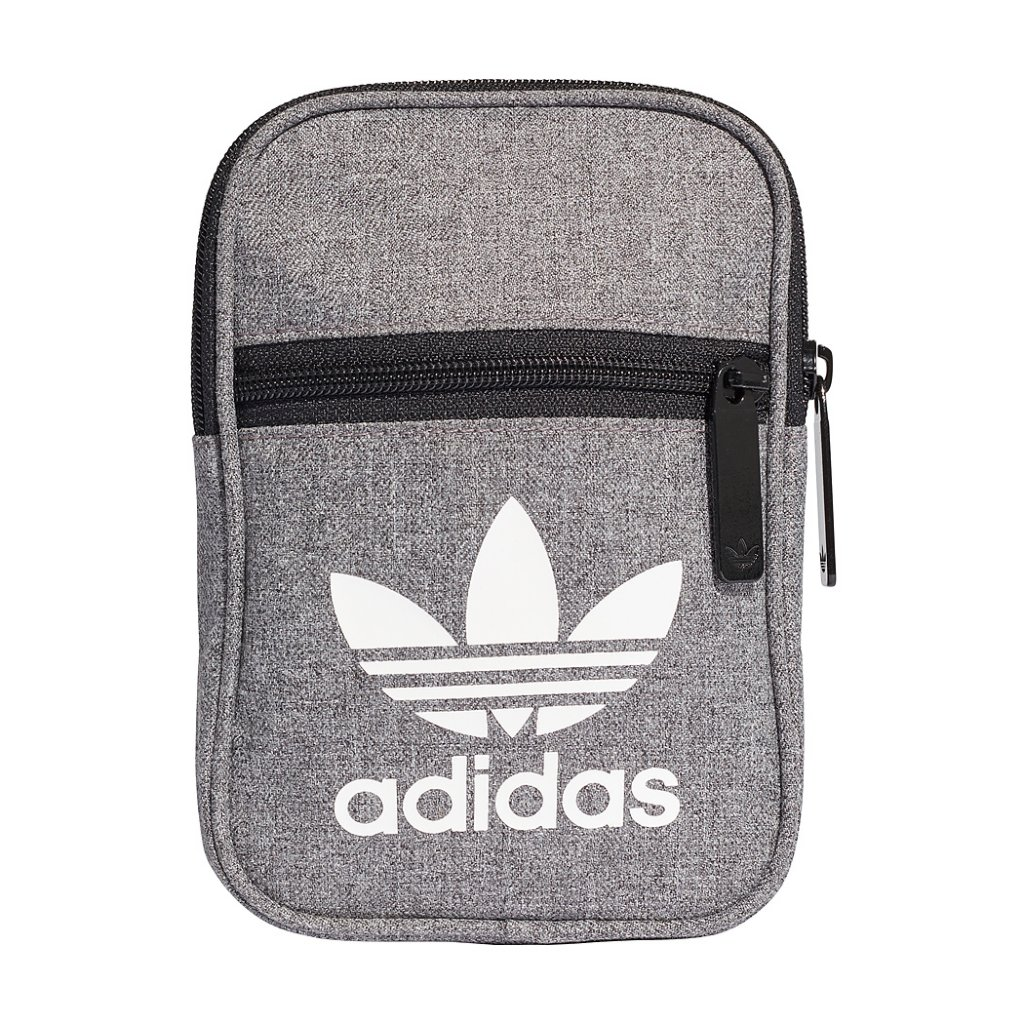 Adidas Originals Trefoil Festival Bag in Black