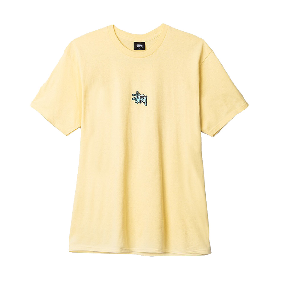 Stussy lil stu tee pale yellow highlights for 2017 mexican heritage night t shirt