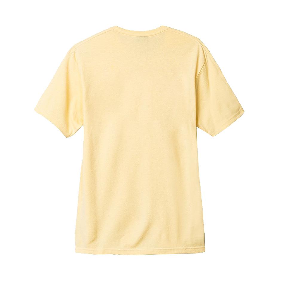 Pale Yellow T Shirt Design