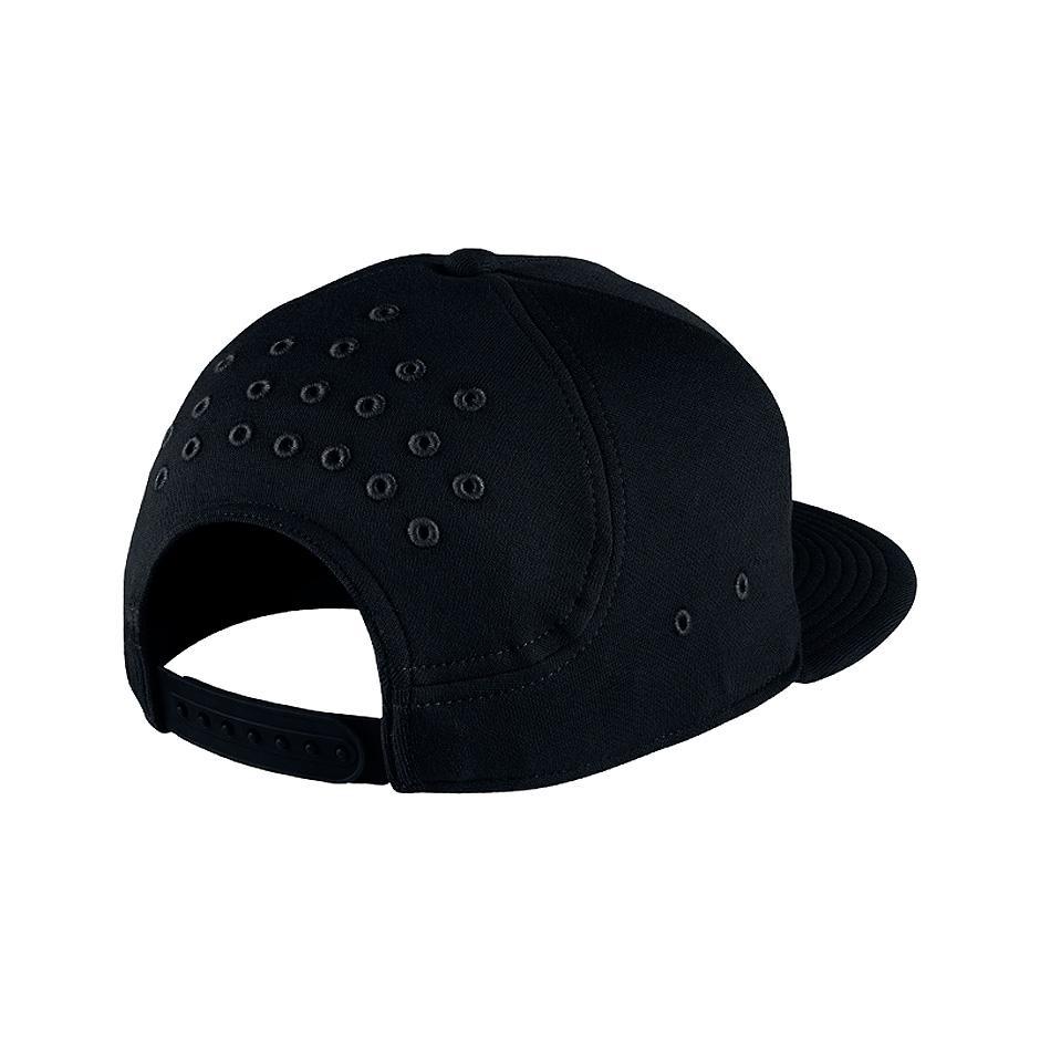 9322a2cd6f776 ... Black Nike Air Force 1 Cap