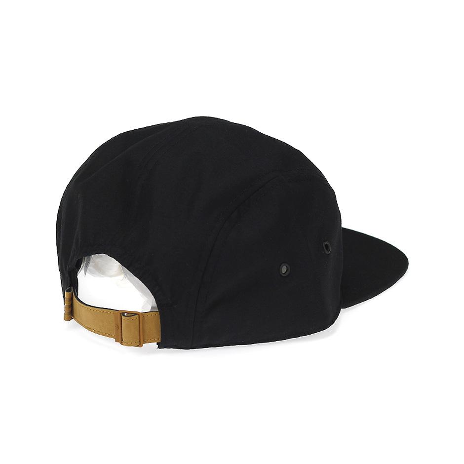 adidas Originals Black & White 5 Panel Strapback Hat