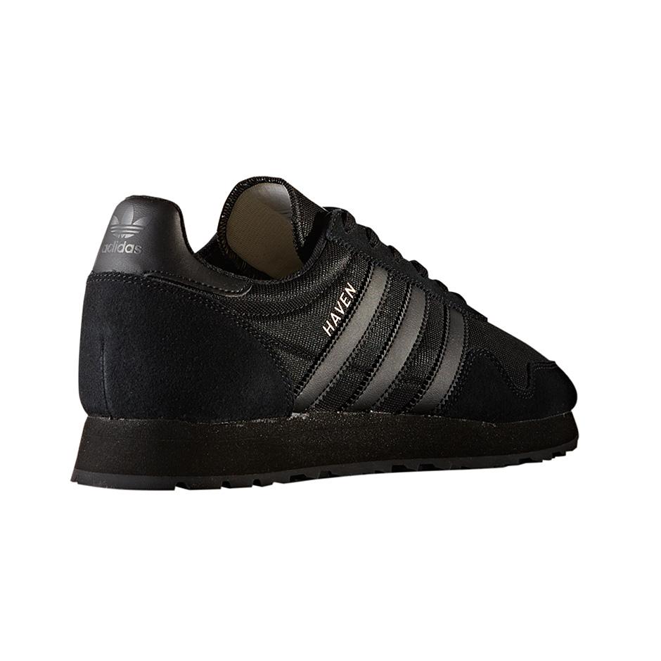Adidas originals haven shoes black black for Adidas originals unicenter