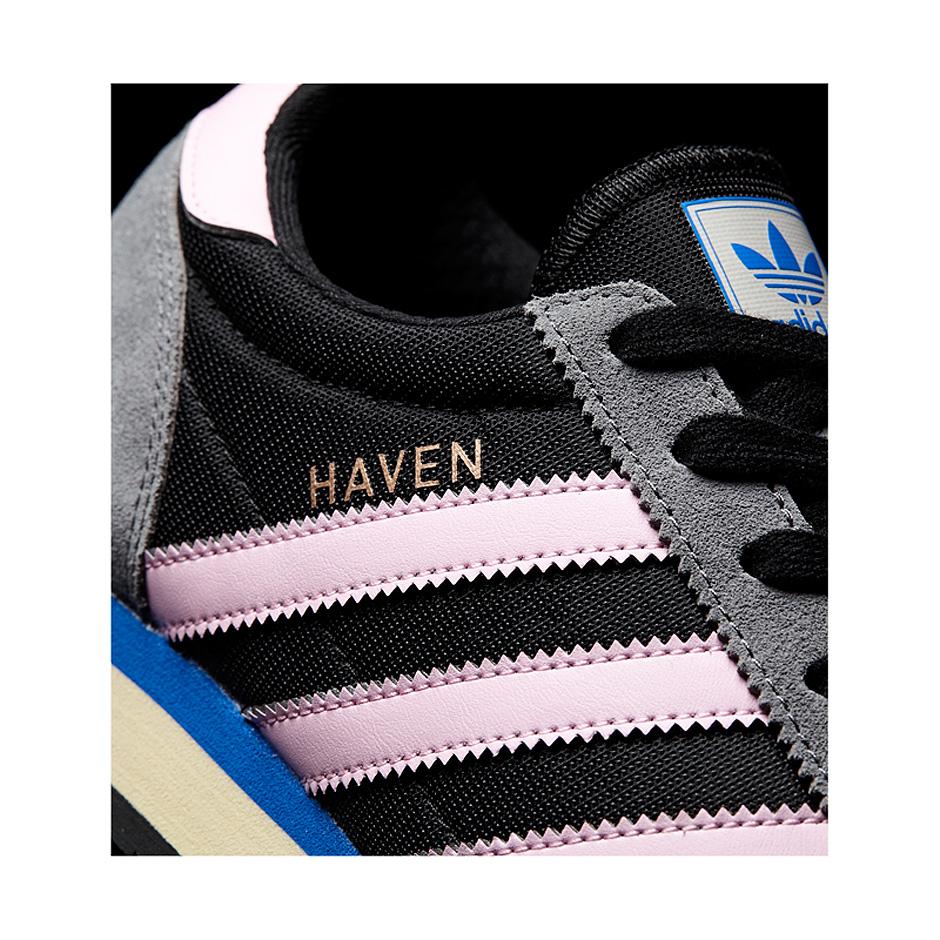 Adidas Originals W Haven Shoes, Black Pink