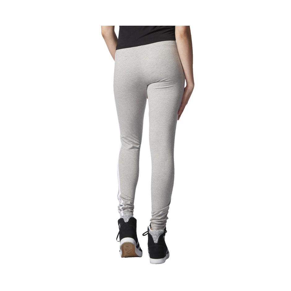 adidas w 3 stripes leggings m grey heather highlights. Black Bedroom Furniture Sets. Home Design Ideas