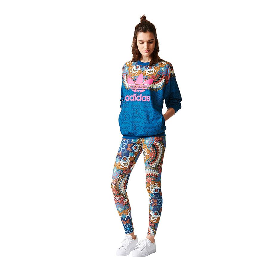 f4ca6460ee9 Adidas Originals W Borbomix Sweater, Multi | Highlights
