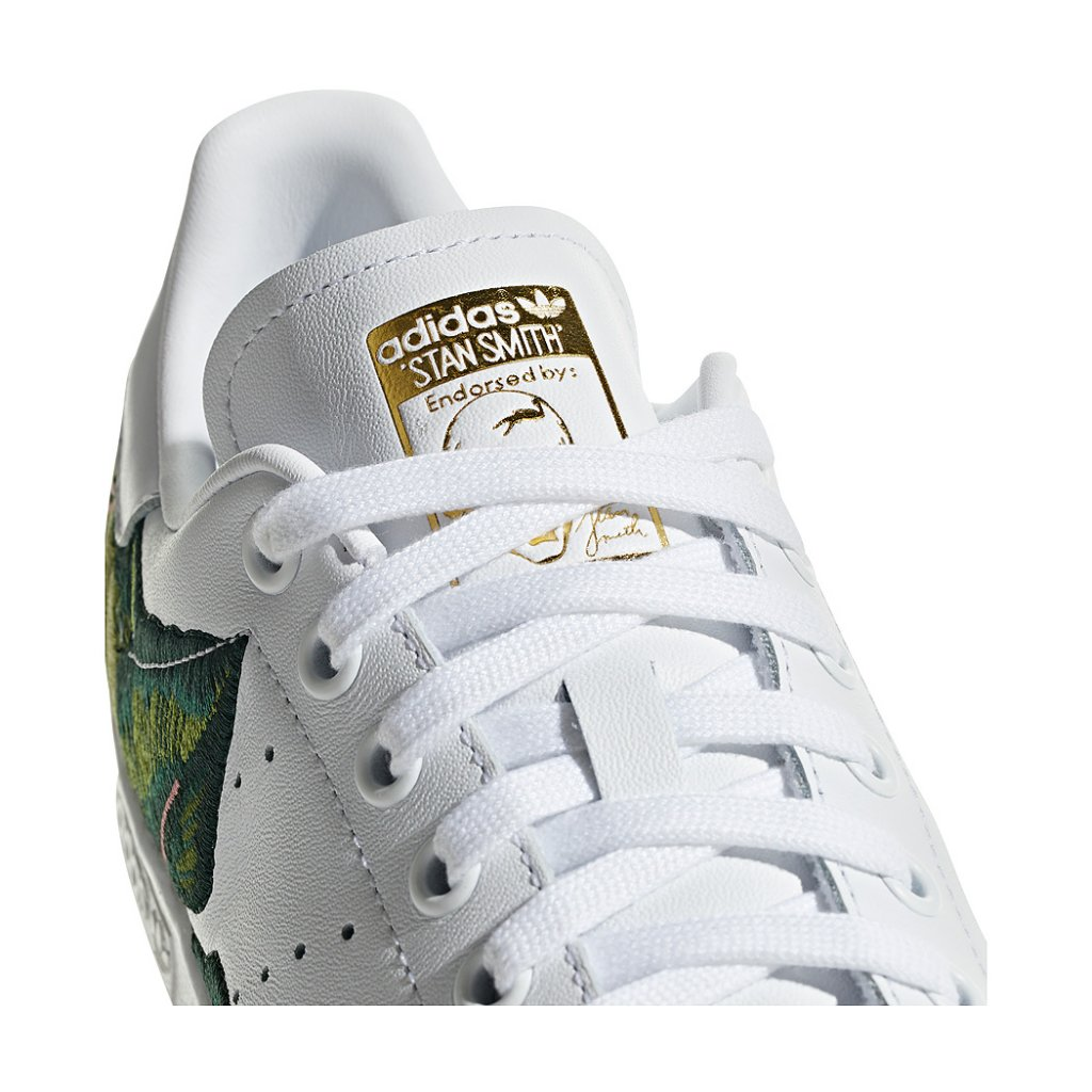 newest collection cd690 a560a ... Adidas Originals W FARM Stan Smith Shoes, White Multi ...