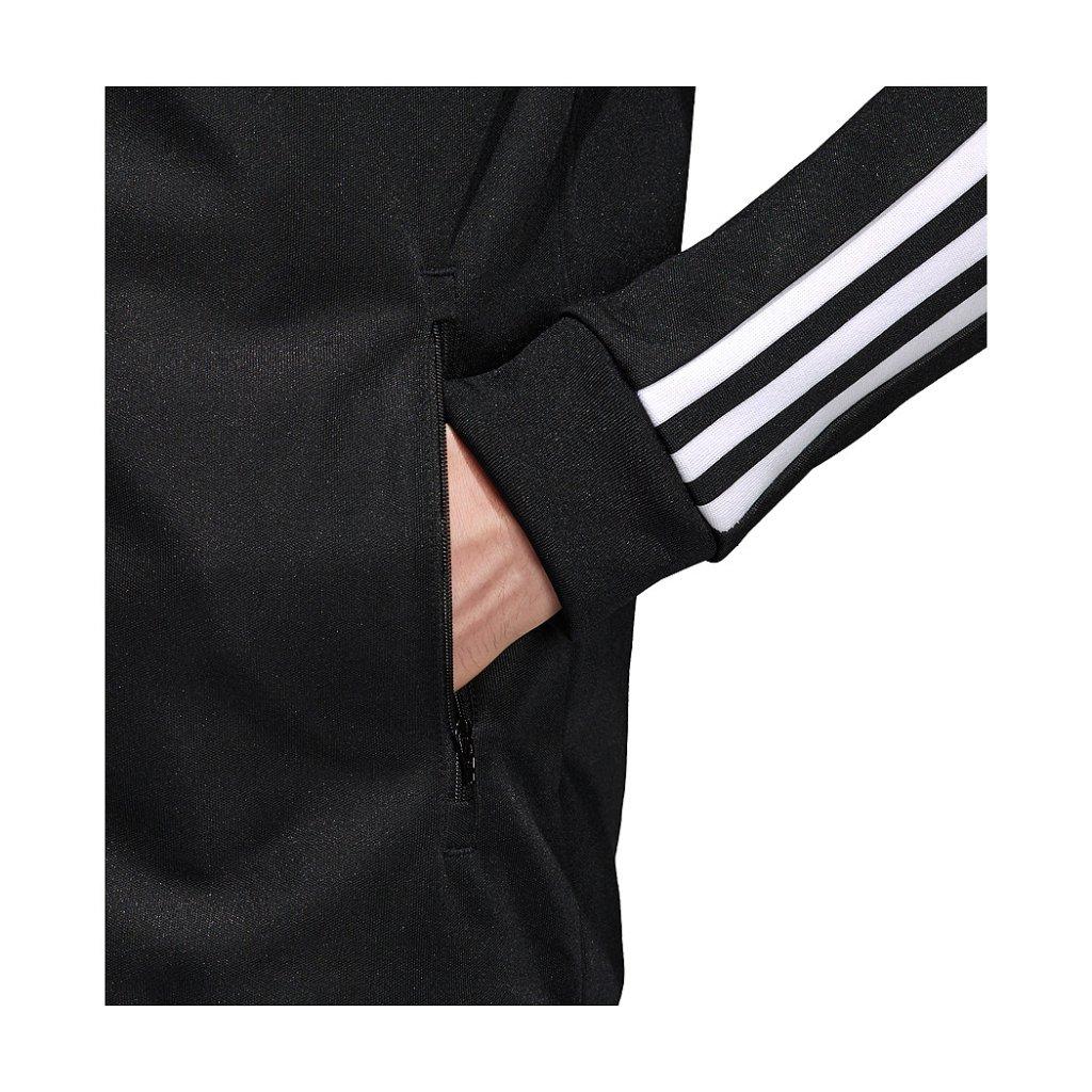 Adidas originals beckenbauer chaqueta, negro highlights