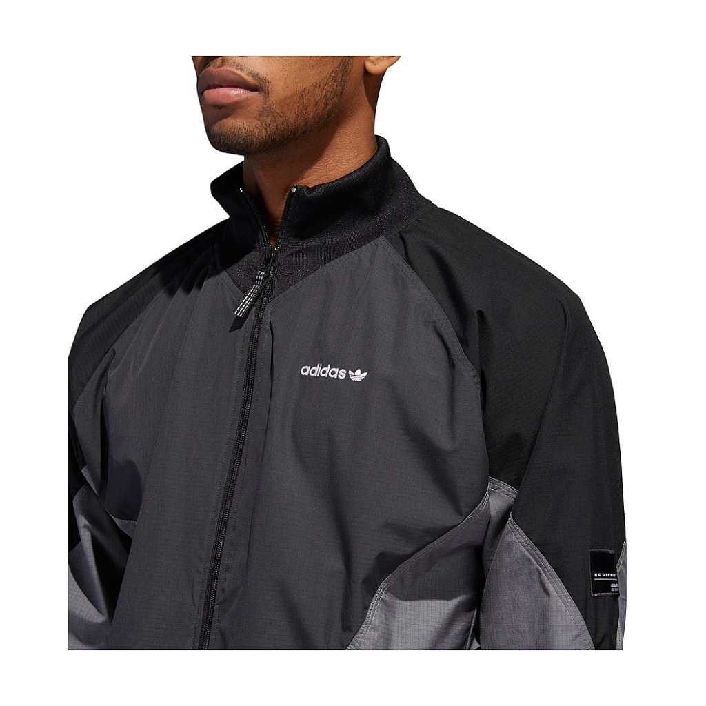 c31927ccdc6f3 ... Carbon Adidas EQT Woven Ripstop Jacket