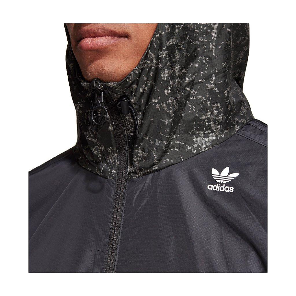 competitive price c610b 81a2a ... Adidas Originals PT3 Karkaj Windbreaker Jacket, Black Reflective ...