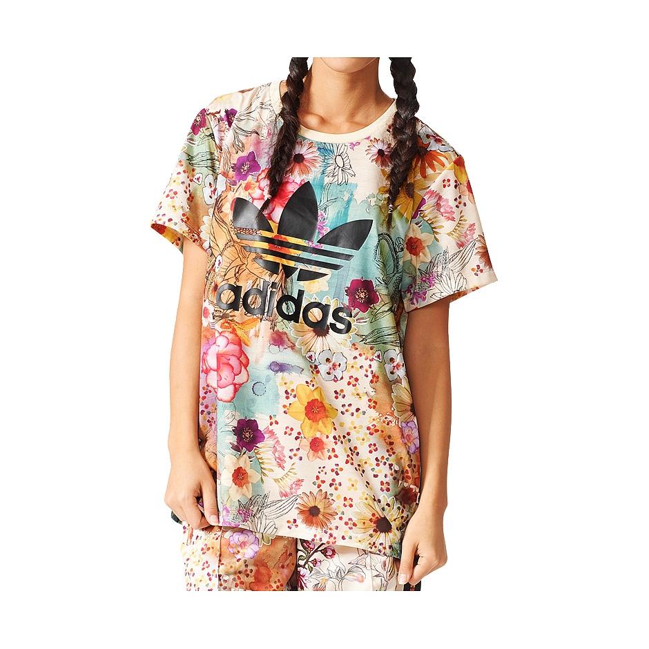 Adidas W Confete BF Trefoil Tee, Multi