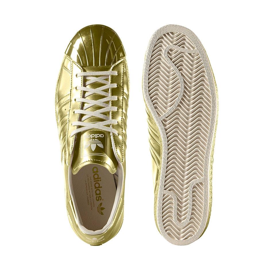 cheaper c86cd 37bdd ... Gold Adidas W Superstar 80s ( S82742 ) ...
