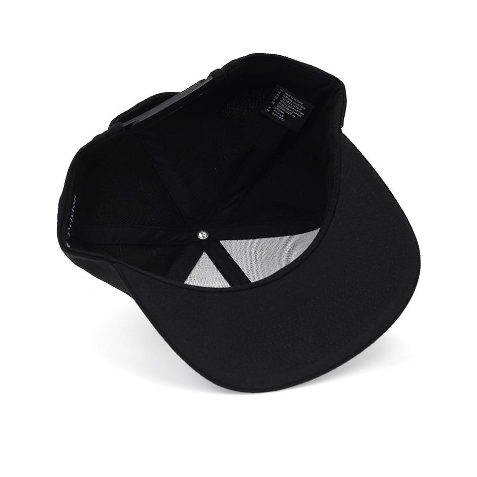 c450a768dc Brixton Rift Snapback, Black Black