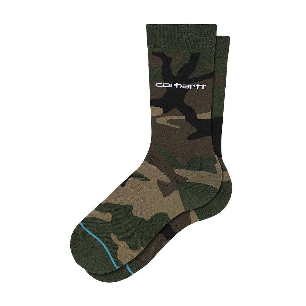 53f9f2e647358 Carhartt x Stance Camo Laurel Socks, Camo Laurel | Highlights