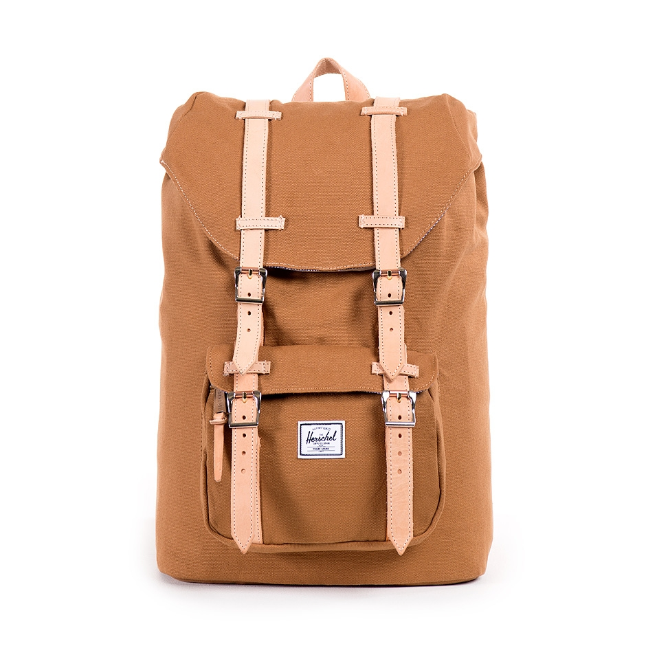 herschel supply little america mid volume caramel canvas. Black Bedroom Furniture Sets. Home Design Ideas