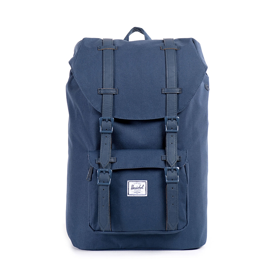 herschel supply little america mid volume navy navy. Black Bedroom Furniture Sets. Home Design Ideas