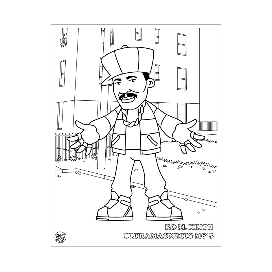 Hip Hop Coloring Book Highlights