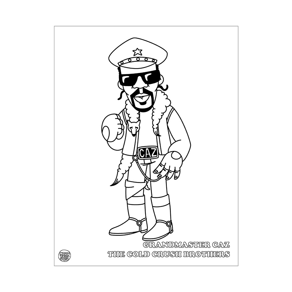 Hip Hop Coloring Book | Highlights