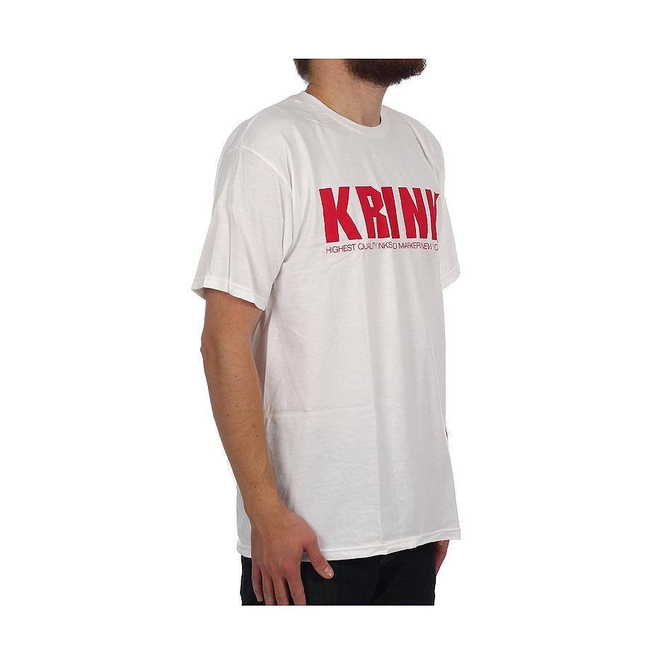 Red Logo Tee KRINK White