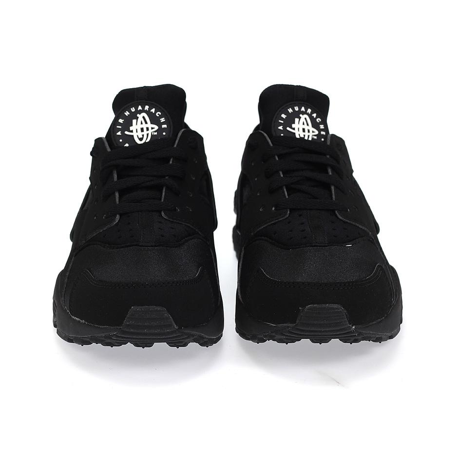 the latest eaabc 86d5f ... Nike Air Huarache ( 318429-003 ), Black Black White ...