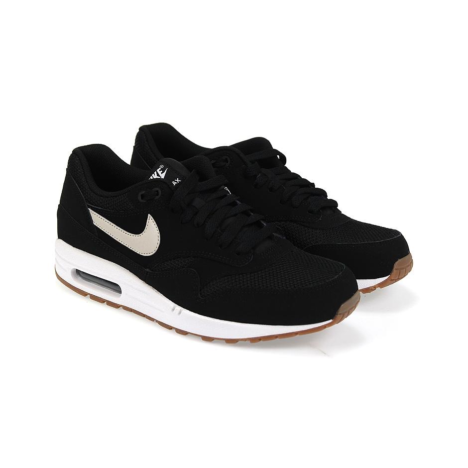 official photos 9d82b 538a7 ... Nike Air Max 1 Essential ( 537383-026 ), Black L Bone White ...