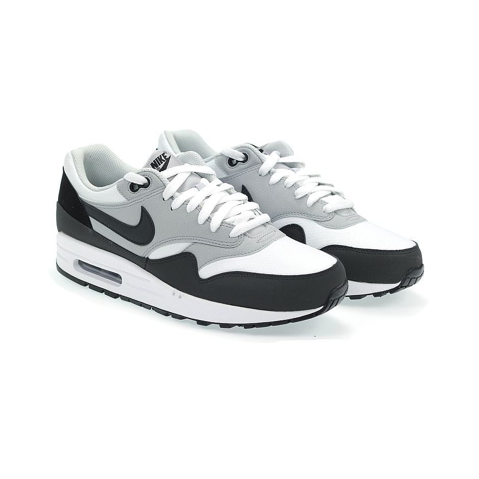nike air max 1 essential 537383 100 white anthracite. Black Bedroom Furniture Sets. Home Design Ideas