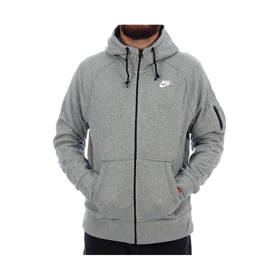 taille 40 c57ce 7658f Nike AW77 FT FZ Hoody, Grey