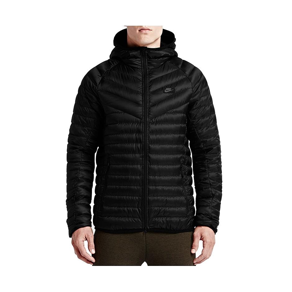 184edeff0 Nike Guild 550 Hooded Jacket, Black | Highlights