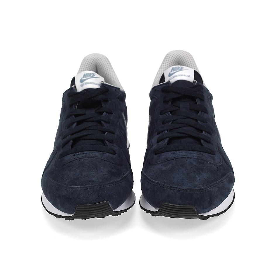 new styles c2e46 ea644 ... Nike Internationalist Leather ( 631755-402 ), Dark Obsidian ...