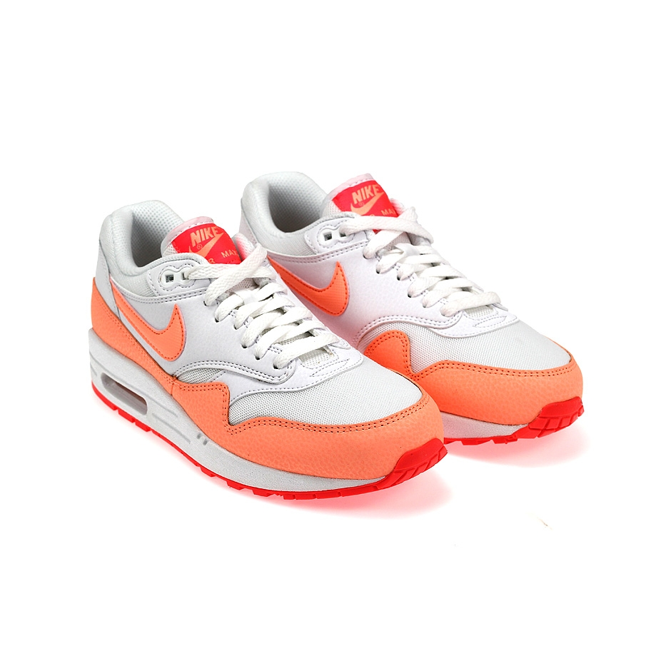 nike wmns air max 1 essential 599820 114 white sunset. Black Bedroom Furniture Sets. Home Design Ideas