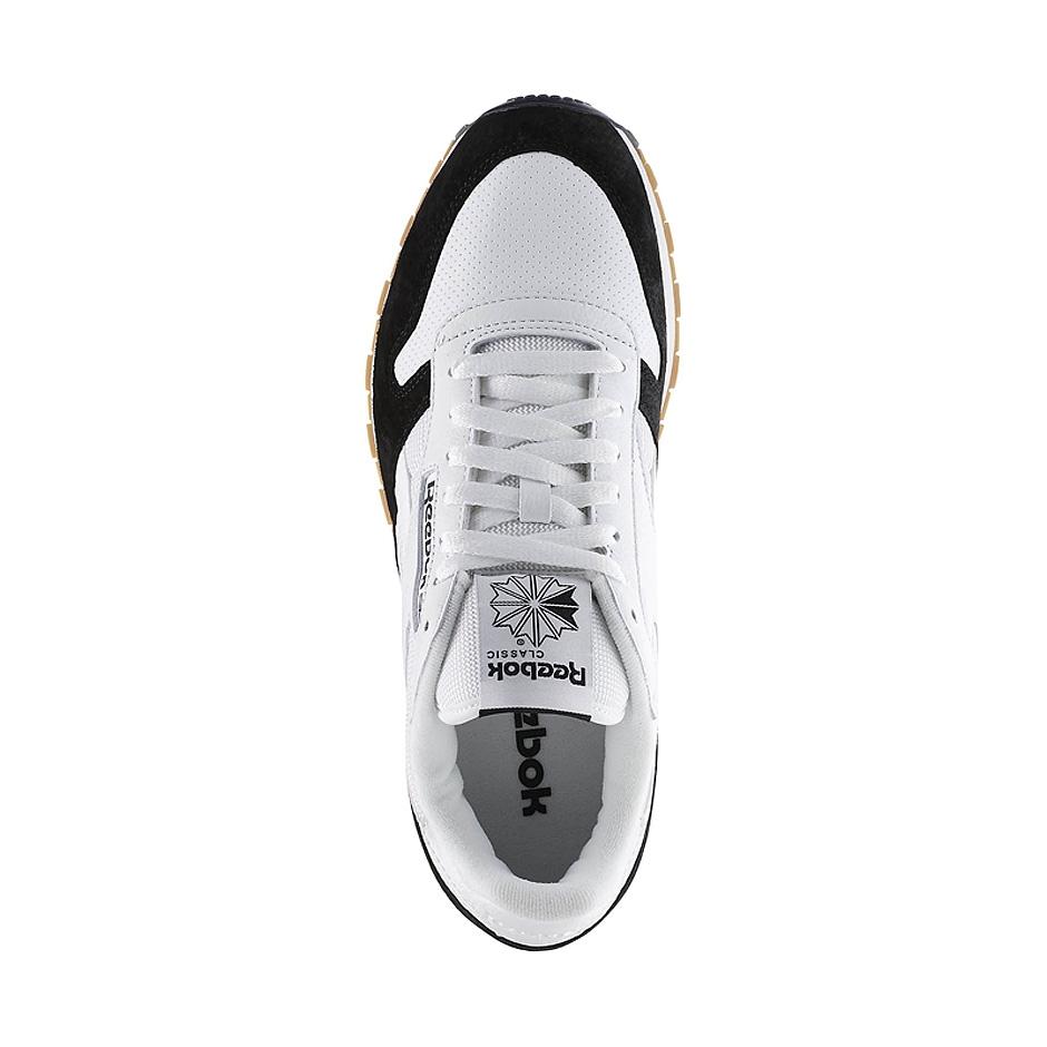 new concept 9ab4b 0f770 ... Reebok CL Leather SPP ( AR1894 ), White Black