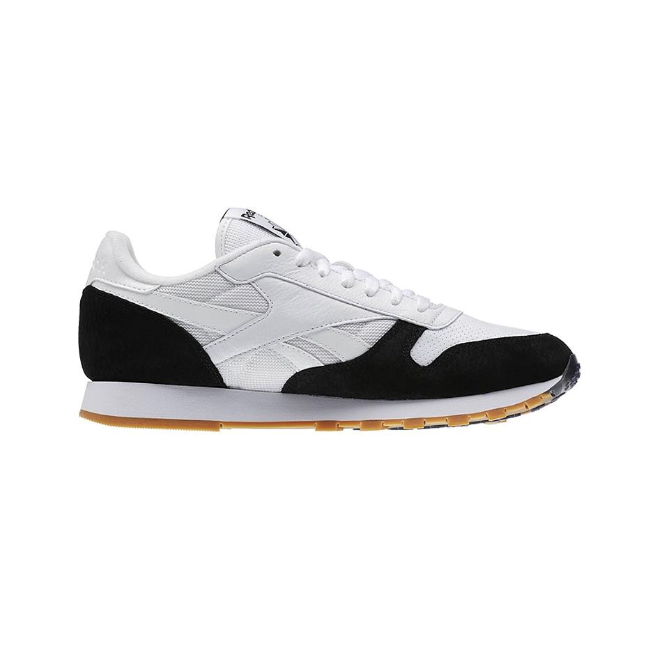 sports shoes ed01a 2e65f ... Reebok CL Leather SPP ( AR1894 ), White Black ...
