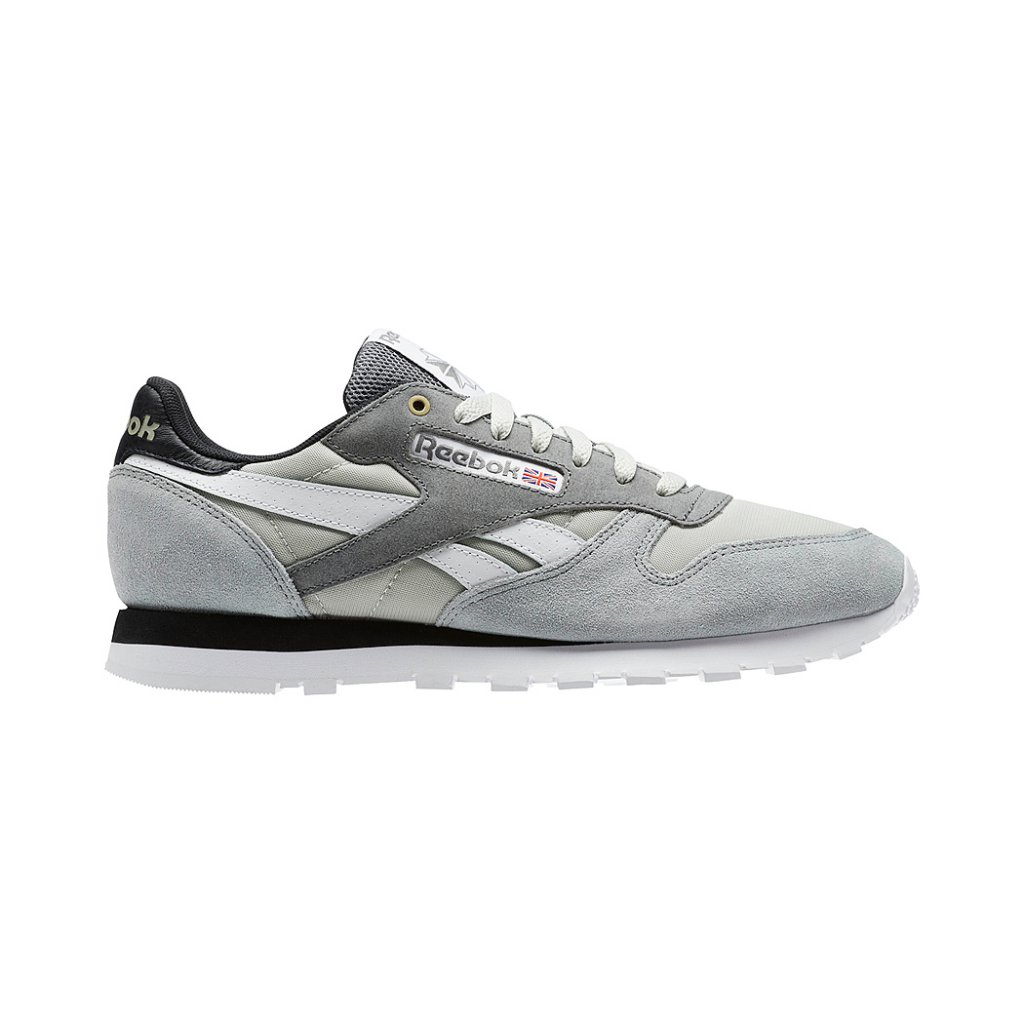 low priced e9013 4a092 Reebok Classics CL Leather MCCS Shoes, Marble