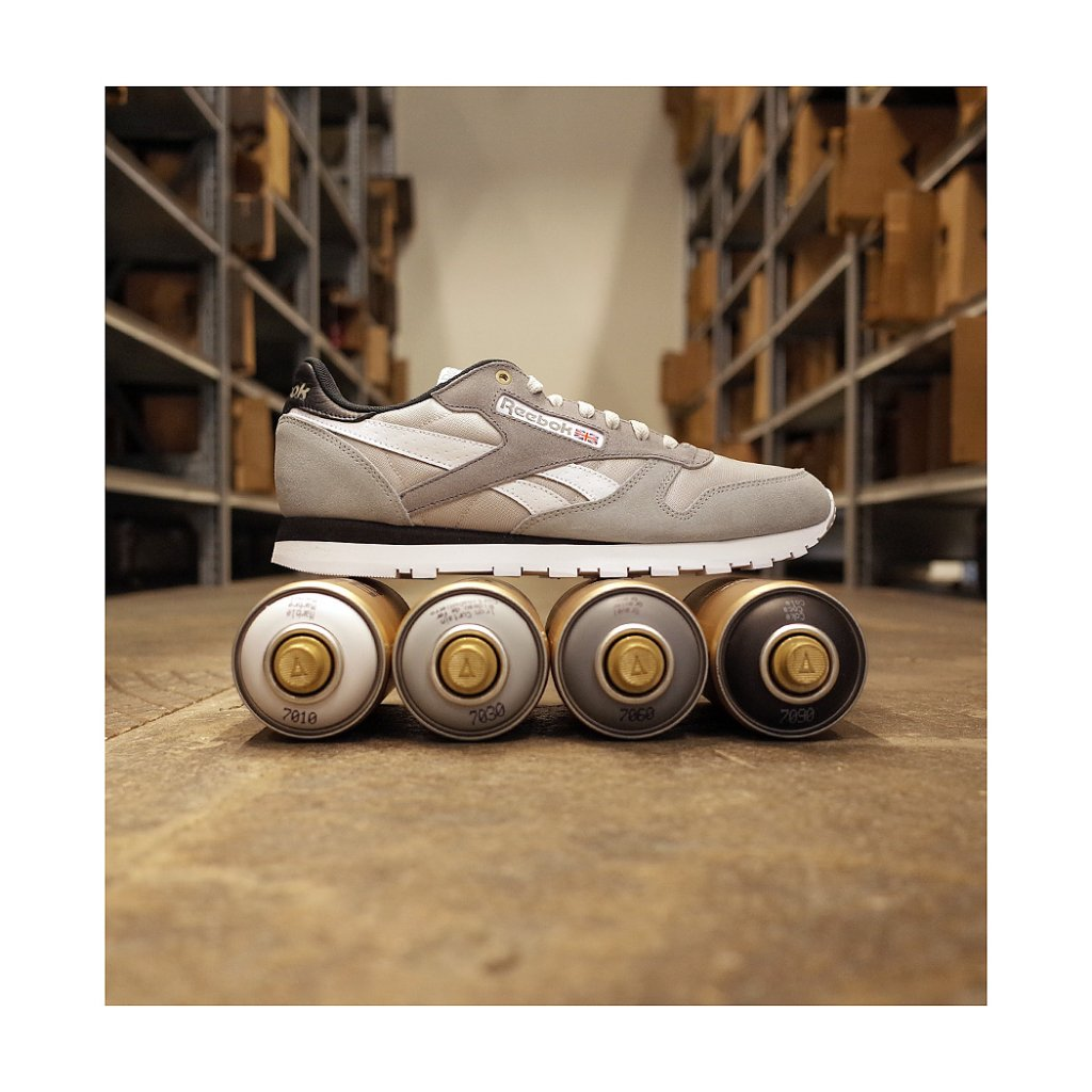 the cheapest purchase genuine 100% original Reebok Classics CL Leather MCCS Shoes, Marble